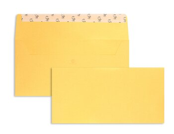 Farbige Kuverts - Gelb (Mellow Yellow)~110 x 220 mm (DIN...