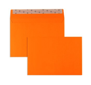Farbige Kuverts - Orange ~114 x 162 mm (DIN C6) | 130...