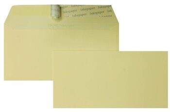 Farbige Kuverts - Creme (Chamois)~110 x 220 mm (DIN Lang)...