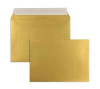 Farbige Kuverts - Gold (Glamour Gold)~156 x 220 mm | 120...