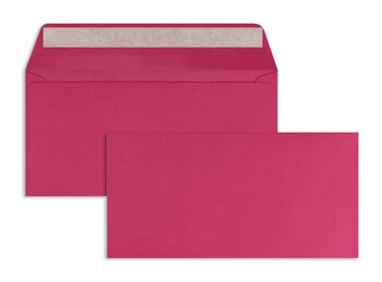 Farbige Kuverts - Rosa (Pink)~110 x 220 mm (DIN Lang) |...